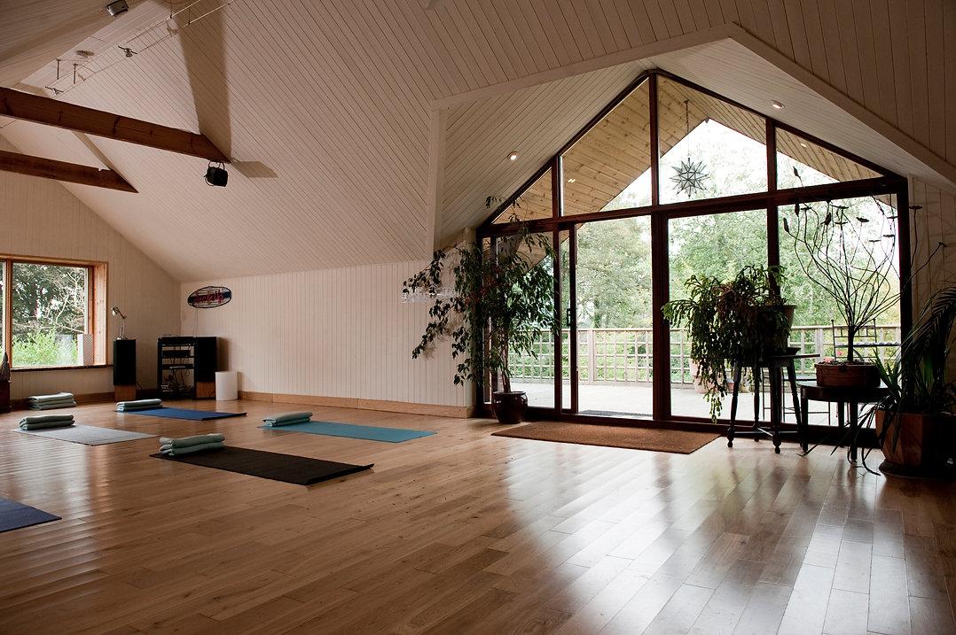 Yoga studio The Old Rectory Chulmleigh