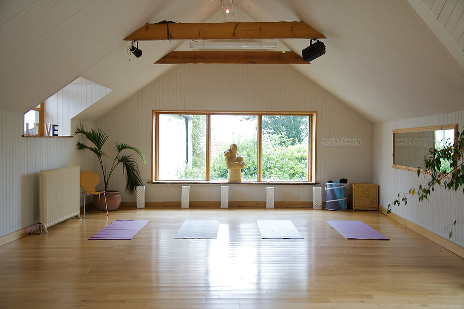 Yoga studio at The Old Rectory