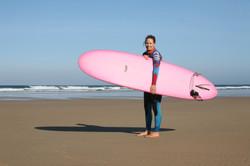 Stunning pink board Women & Water retreat