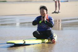 Post surf beach shot