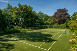Tennis court at The Old Rectory