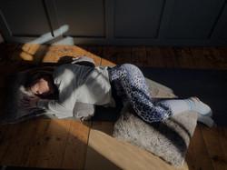 Amanda Bunton Yin Yoga posture