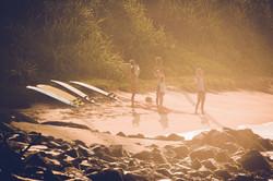 Sunrise surf stretch