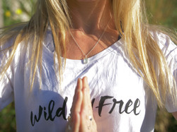 Wild and Free Adventures white T-Shirt