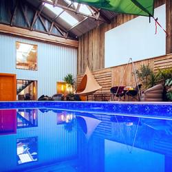 indoor swimming pool at Loveland Farm