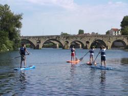 Kayak en groupe à Béziers