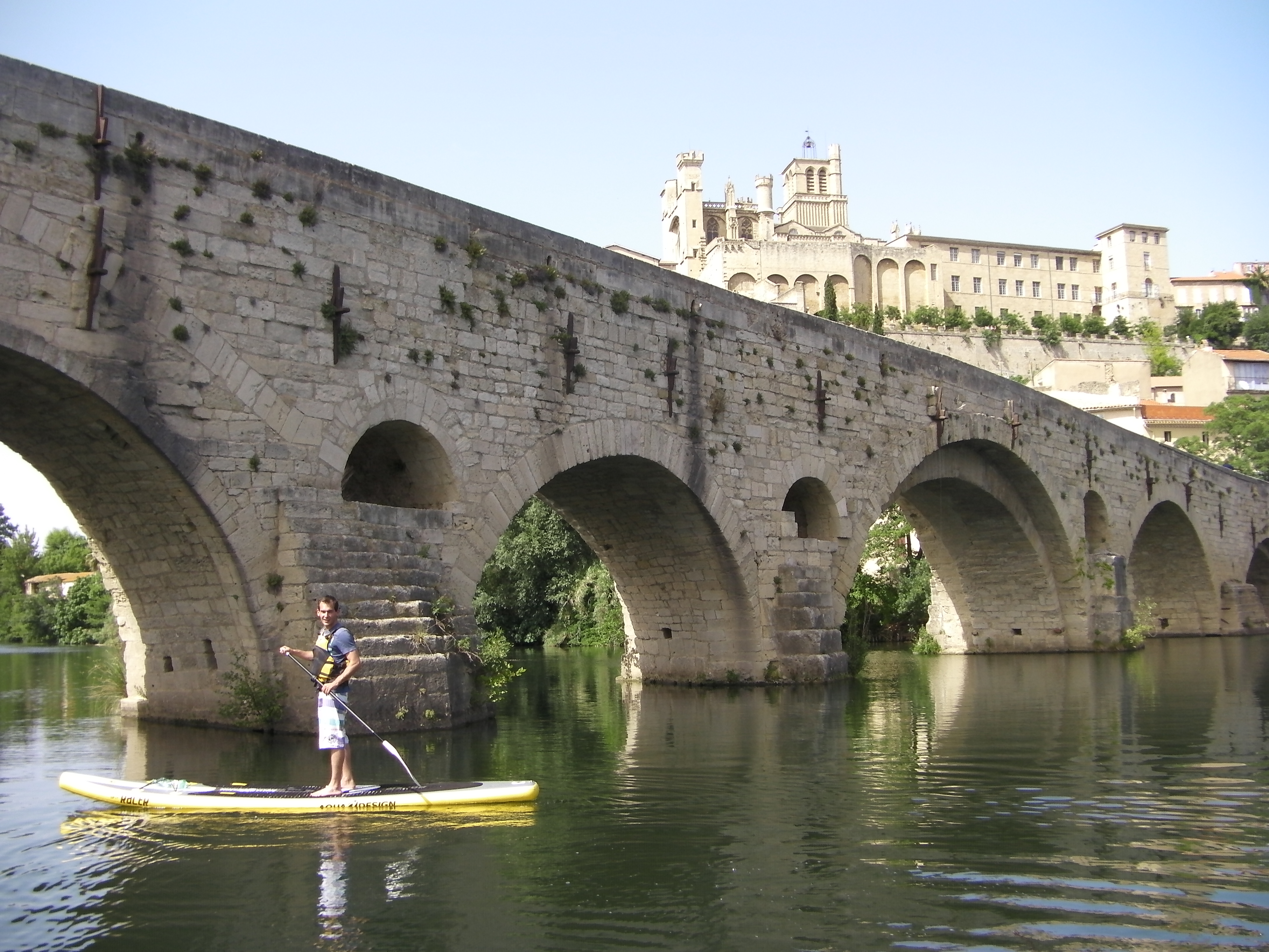 Stand up paddle à Béziers
