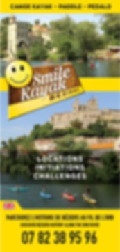 Flyer Smile Kayak Béziers 2016