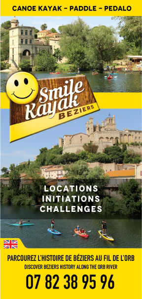 Flyer Smile Kayak Béziers 2016