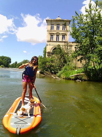 Stand up Paddle at Béziers (Hérault)