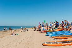 Smile Kayak Béziers, challenge à la plage