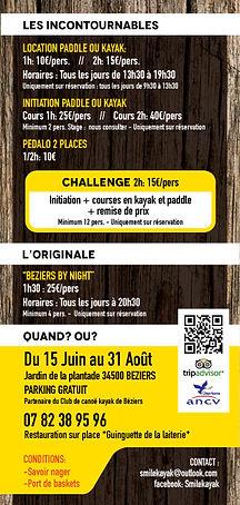 Louer un stand up paddle à Béziers