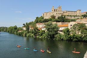 Smile Kayak Béziers , la Cathédrale Saint Nazaire