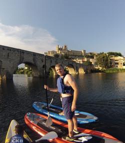 Paddle à Béziers