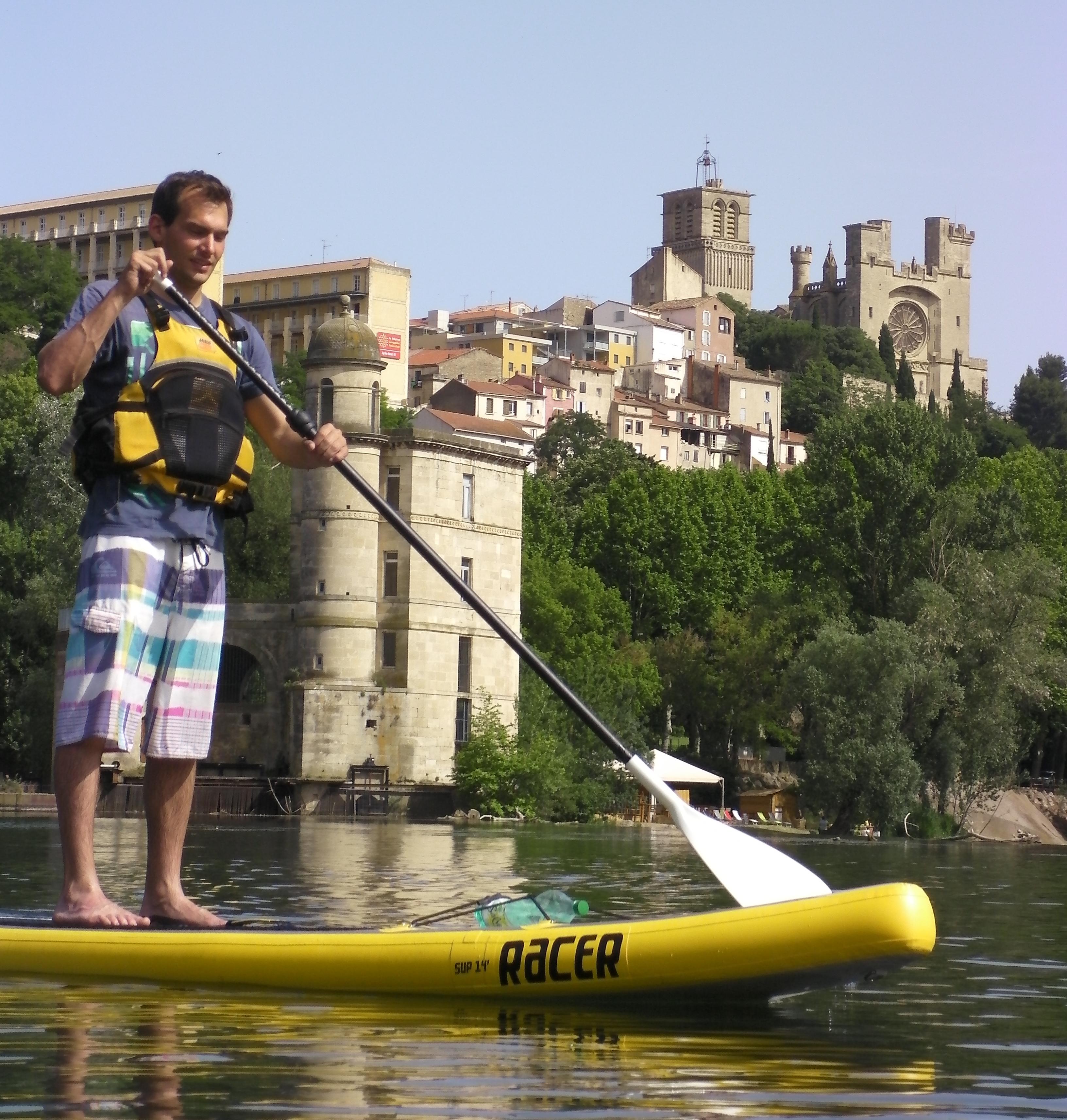 Location de paddle à Béziers