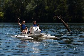 Smile Kayak Béziers, Pédalo sur l'Orb