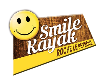 Logo Smile Kayak Roche le Peyroux (Corrèze)