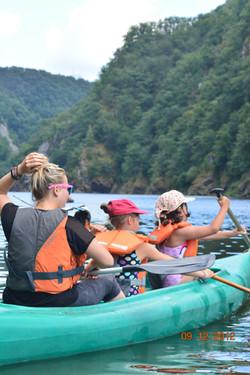 Canoe kayak en Corrèze
