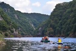 Sortie canoe kayak en famille
