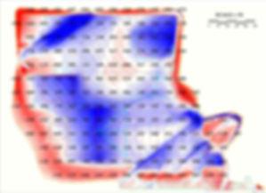 Takoff cut/fill map