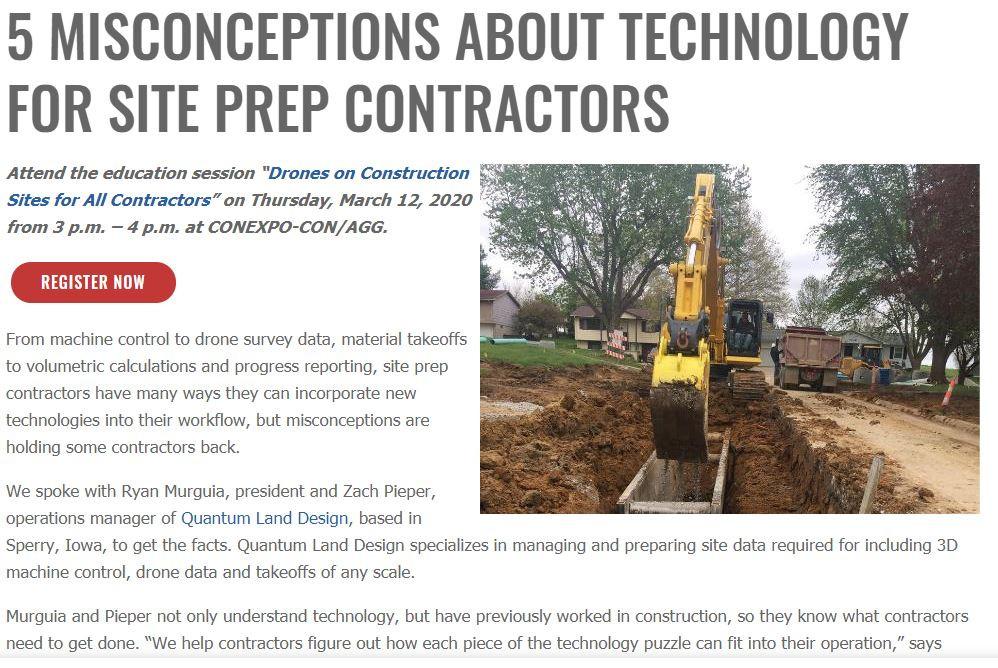 ConExpo Article