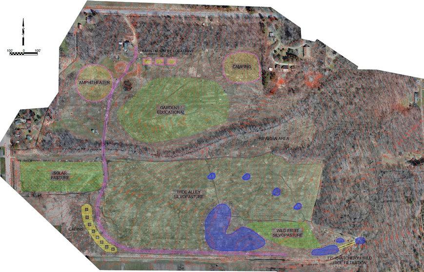 Conceptual farm design
