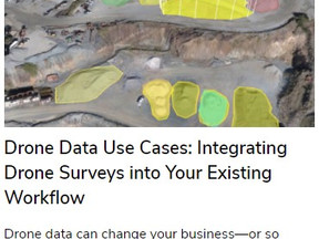 Drone Data Never Works Alone: Integrating Drone Surveys into Your Existing Workflow