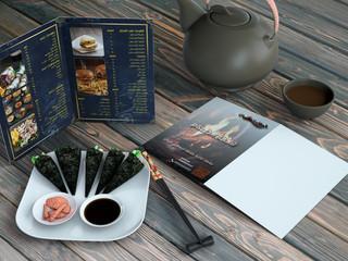 تصميم قائمة طعام مطعم مشويات
