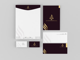 تصميم هوية تجارية لمكتب محاماة