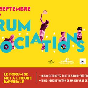 Forum des associations 4 septembre