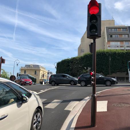 En haut de la rue André Chevrillon