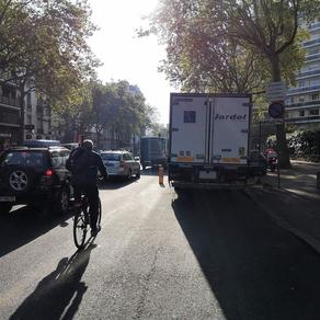 """Action vendredi 28/5 pour sauvegarder la """"coronapiste"""" de la route de la Reine à Boulogne"""