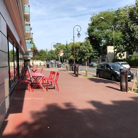 Rue Gounod, devant le Daily Monop