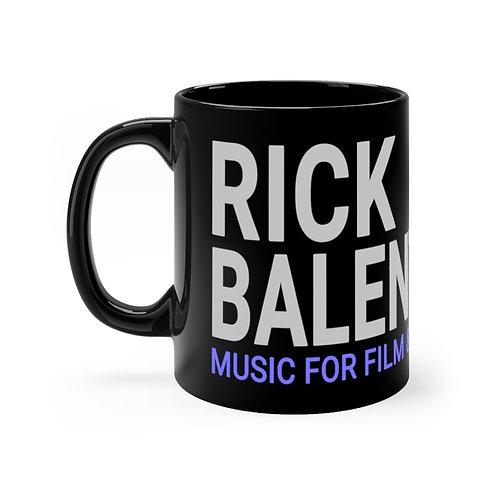 Rick Balentine Music Black mug 11oz