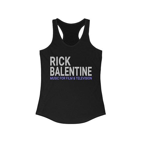 Rick Balentine Music Classic Women's Ideal Racerback Tank