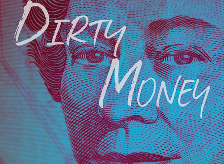 """SONGS TO YOUR EYES RELEASES """"DIRTY MONEY"""" CONTAINING 12 VEGAS COOL CUES COMPOSED BY RICK BALENTINE"""