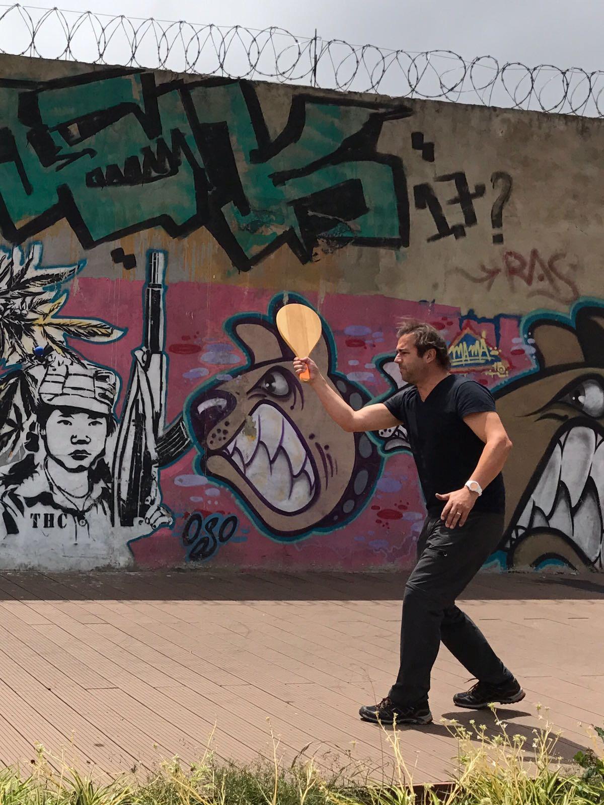 Tomi in Medellin
