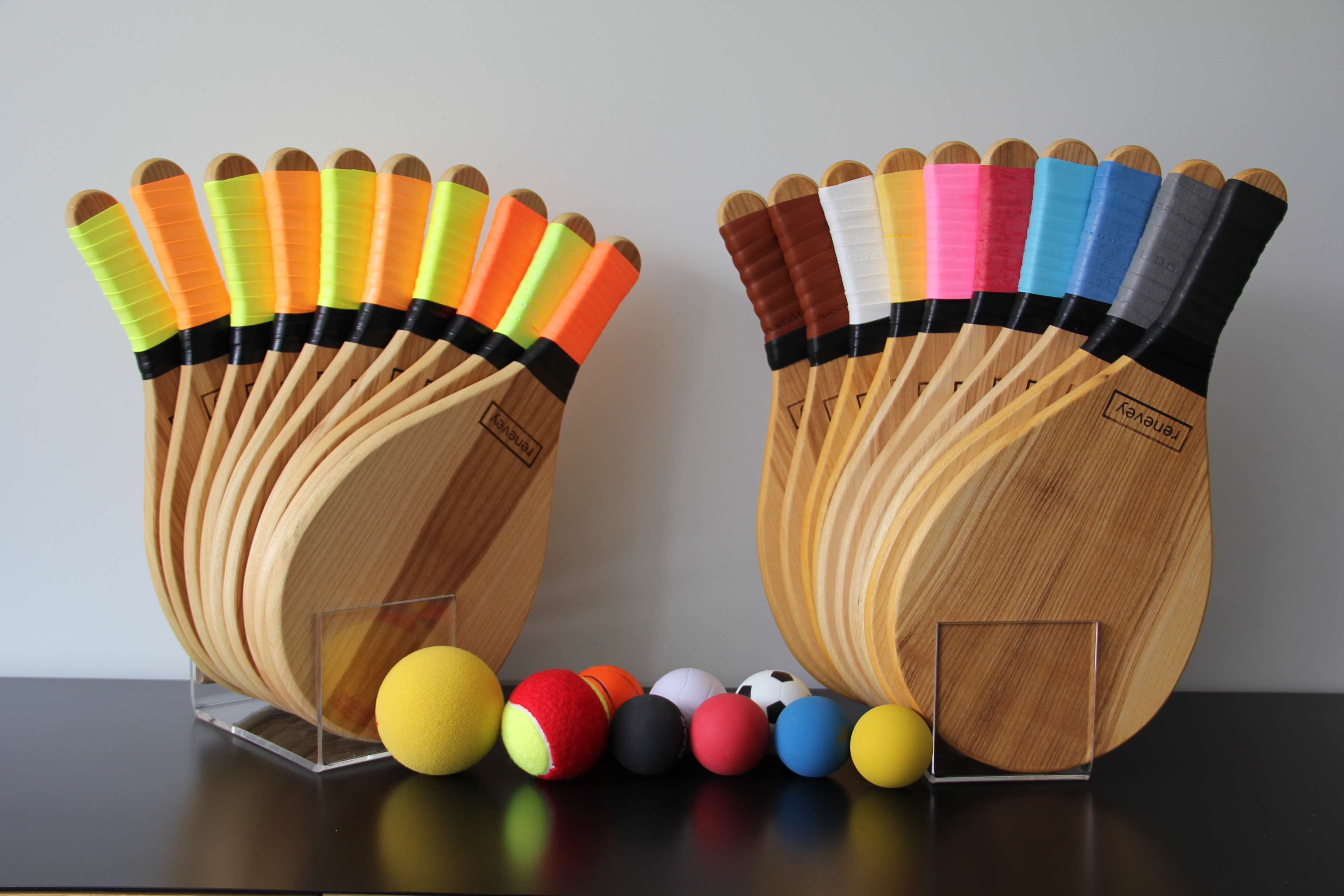 Beachball Color Grips