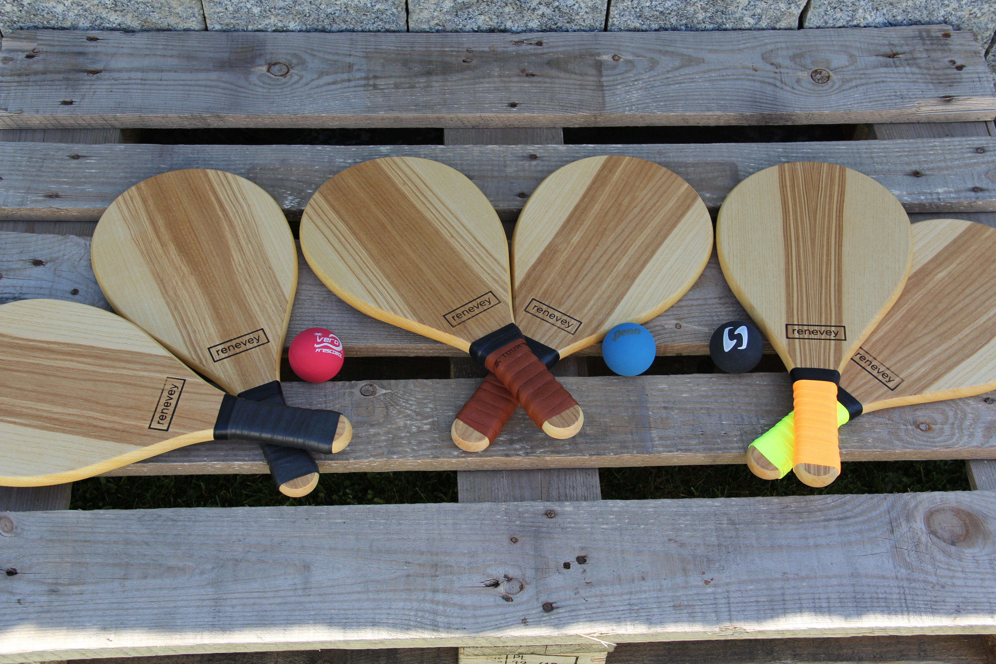 Auswahl an Beachball Rackets