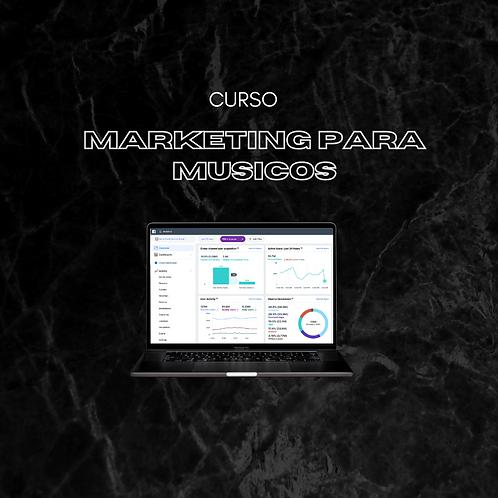 Curso Marketing digital para músicos