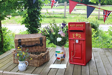 post_box_hire_wesy_sussex_wedding_bell_a