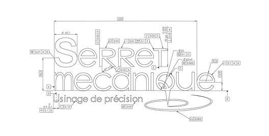 Plan logo Devis usinage Serret Mecanique