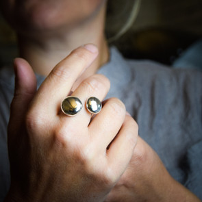 The Melting Moons Ring