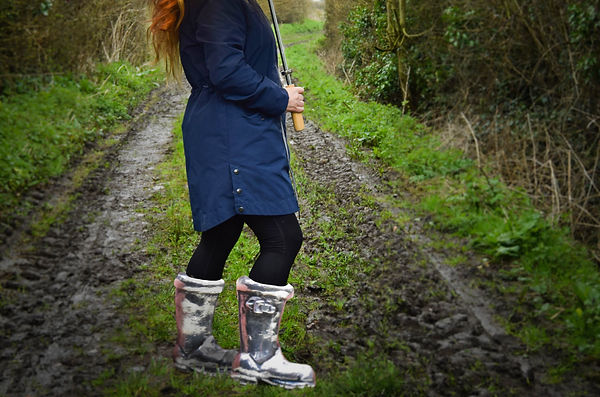 Me in Silver Wellies as good as it gets