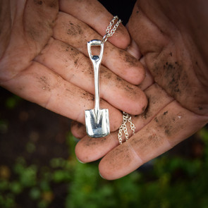 The Gardeners Spade Pendant