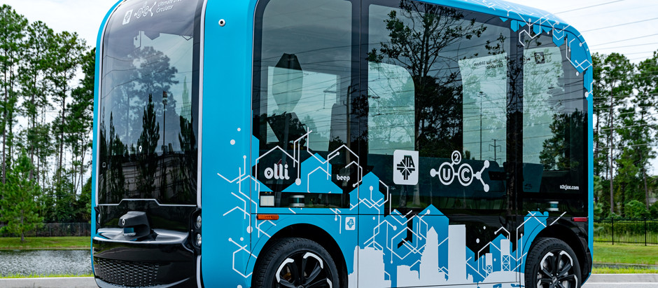 JTA receives first Olli 2.0 in U.S. from Beep, Local Motors and Robotic Research