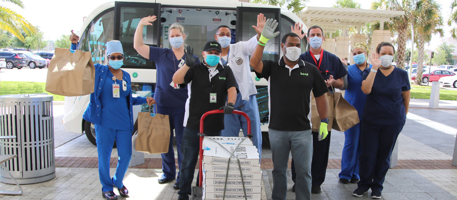 Special Delivery to Orlando VA Medical Center Workers on the Frontline