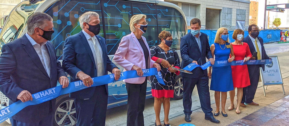 HART Launches Tampa Bay Area's First Autonomous Vehicle Pilot