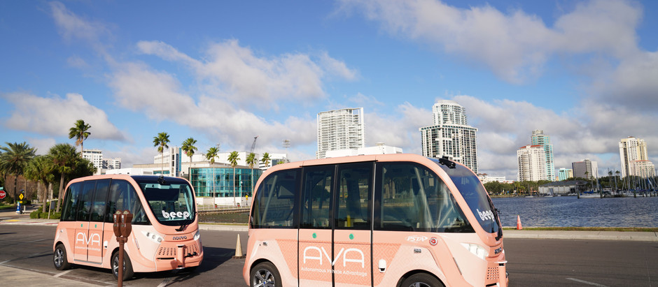 Beep and PSTA Launch First of its Kind Autonomous Vehicle Pilot in Tampa Bay Region