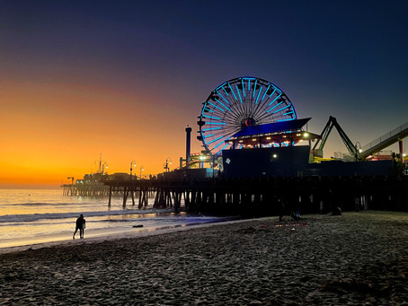 November project: L.A County Pier Sunsets